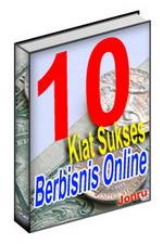 Gambar Ebook 10 Kiat Sukses Berbisnis Online