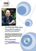 Gambar Ebook 24 Prinsip Milyarder Yang Dicerahkan