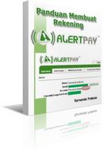 Gambar Ebook Panduan Pembuatan Rekening Alertpay Verified V.1