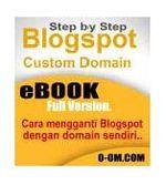 Gambar Ebook Step by step blogspot custom domain
