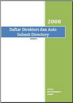 Gambar Ebook Daftar Direktori & Auto Submit Direktori