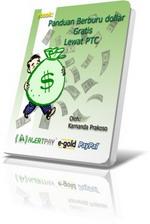 Gambar Ebook Panduan berburu dollar gratis lewat PTC V-2