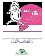 Gambar Ebook Etika dalam mailing list