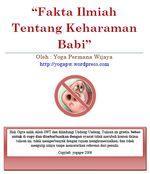 Gambar Ebook Fakta Ilmiah Tentang Keharaman Babi