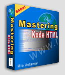 Gambar Ebook Mastering Kode HTML edisi ke-2