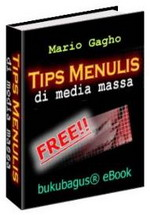 Gambar Ebook Tips menulis di media massa