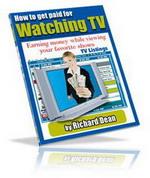 Gambar Ebook How To Get Paid For Watching TV (Bagaimana Cara Mendapatkan Bayaran dengan Hanya Menonton Televisi)