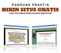 Gambar Ebook Panduan praktis bikin situs gratis