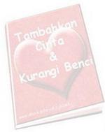 Gambar Ebook Tambahkan Cinta dan Kurangi Benci