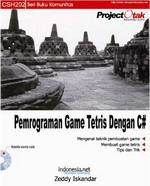 Gambar Ebook Pemrograman Game Tetris dengan C#