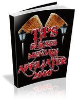 Gambar Ebook Tips sukses menjadi affiliater 2009