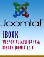 Gambar Ebook Web Portal Multibahasa Dengan Joomla 1.5.x