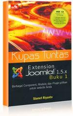 Gambar Ebook Kupas Tuntas Extensions Joomla 1.5.x