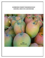 Gambar ebook agribisnis panen tanaman buah gedong gincu di luar musim