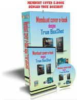 Gambar ebook membuat cover ebook dengan true boxshot