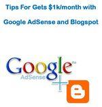 Gambar ebook 1000$ per Bulan dari Google Adsense dan Blogspot