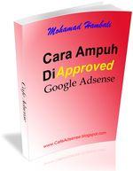 Gambar ebook Cara Ampuh di Approve Google Adsense