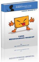 Gambar ebook Cara Menggambar Mascot