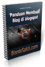 Gambar ebook Panduan Membuat Blog di Blogspot