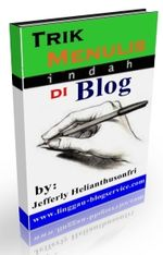 Gambar ebook Trik Menulis Indah di Blog
