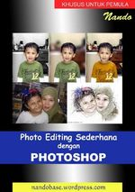 Gambar ebook Photo Editing Sederhana dengan Photoshop