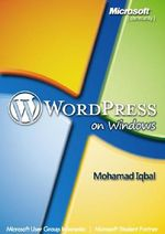 Gambar ebook WordPress on Windows